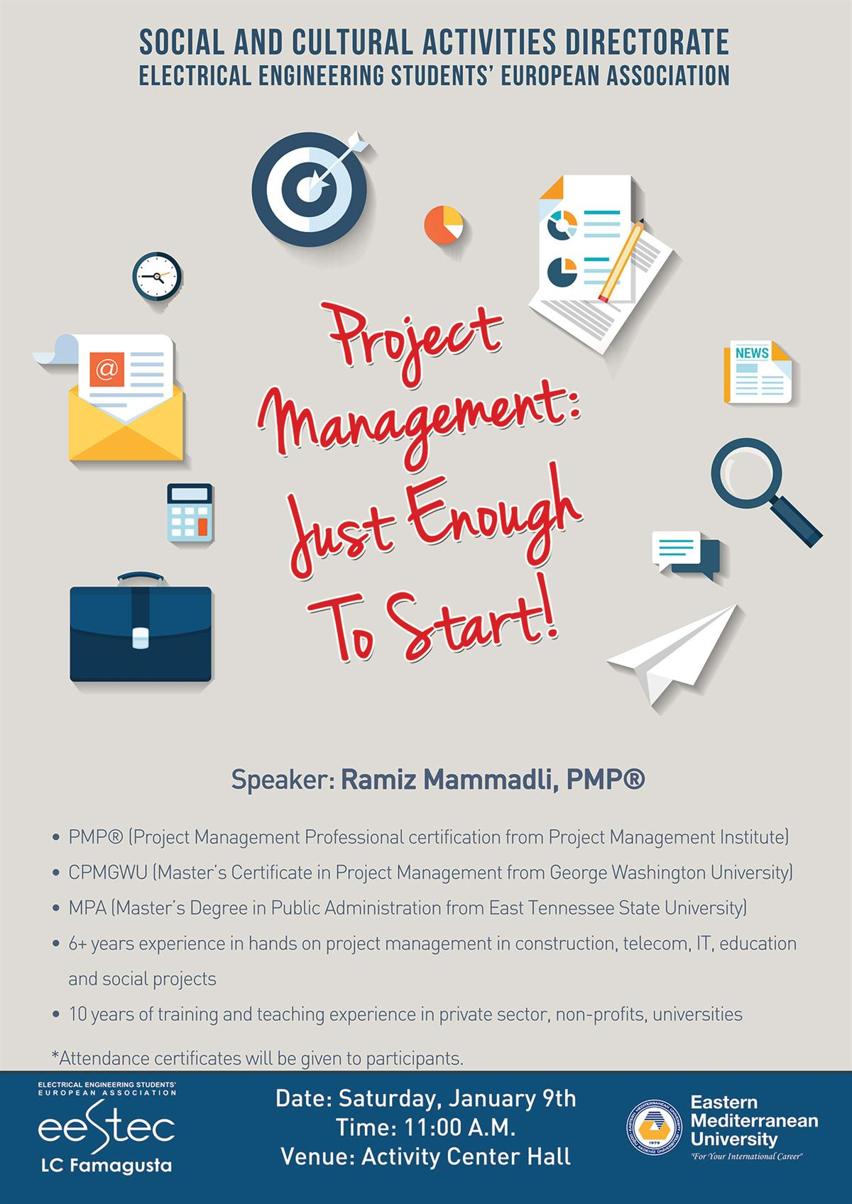 Project management just enough to start seminar news project management just enough to start seminar 1betcityfo Images