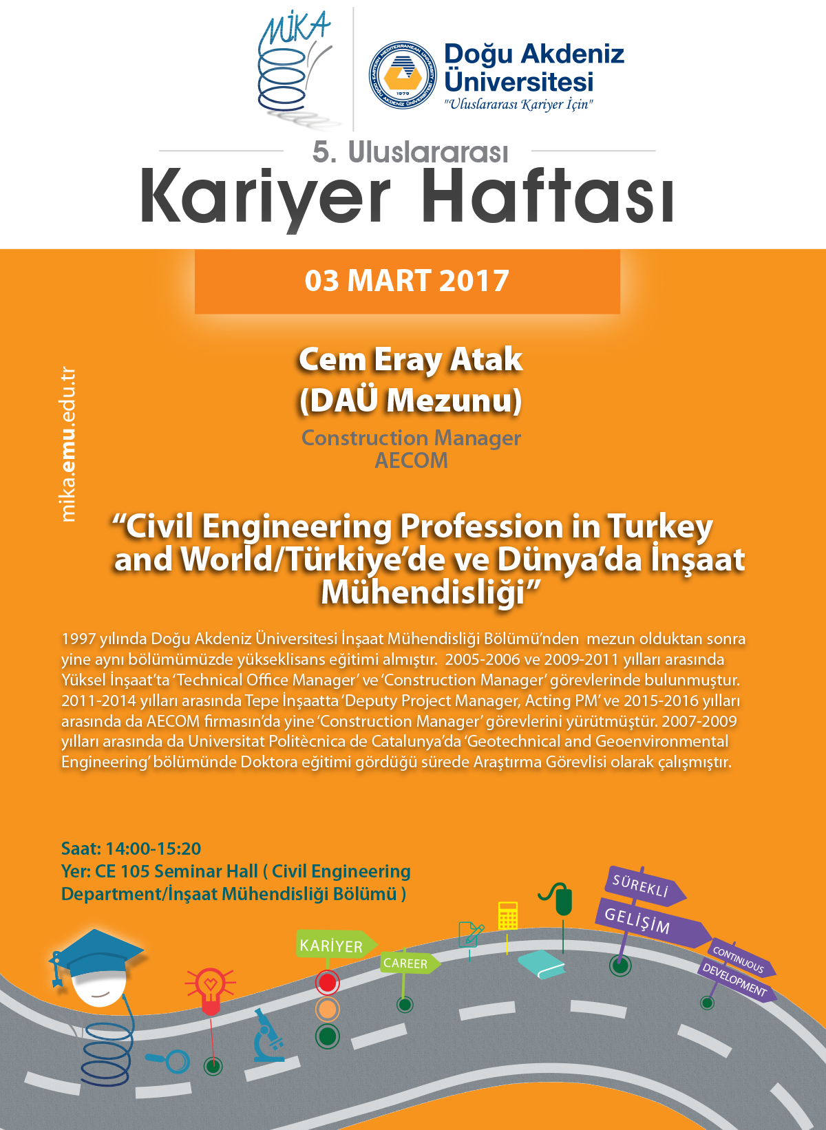 Civil Engineering Profession in Turkey and World