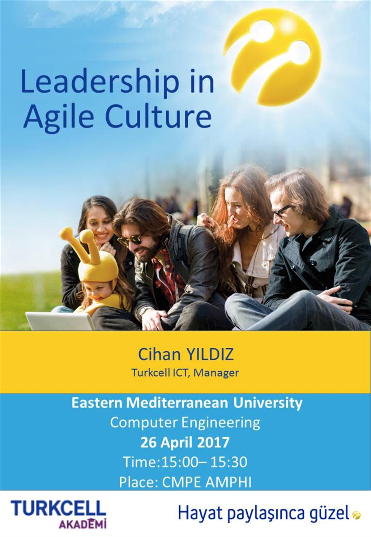 Turkcell-Flyers  Leadership in Agile Culture
