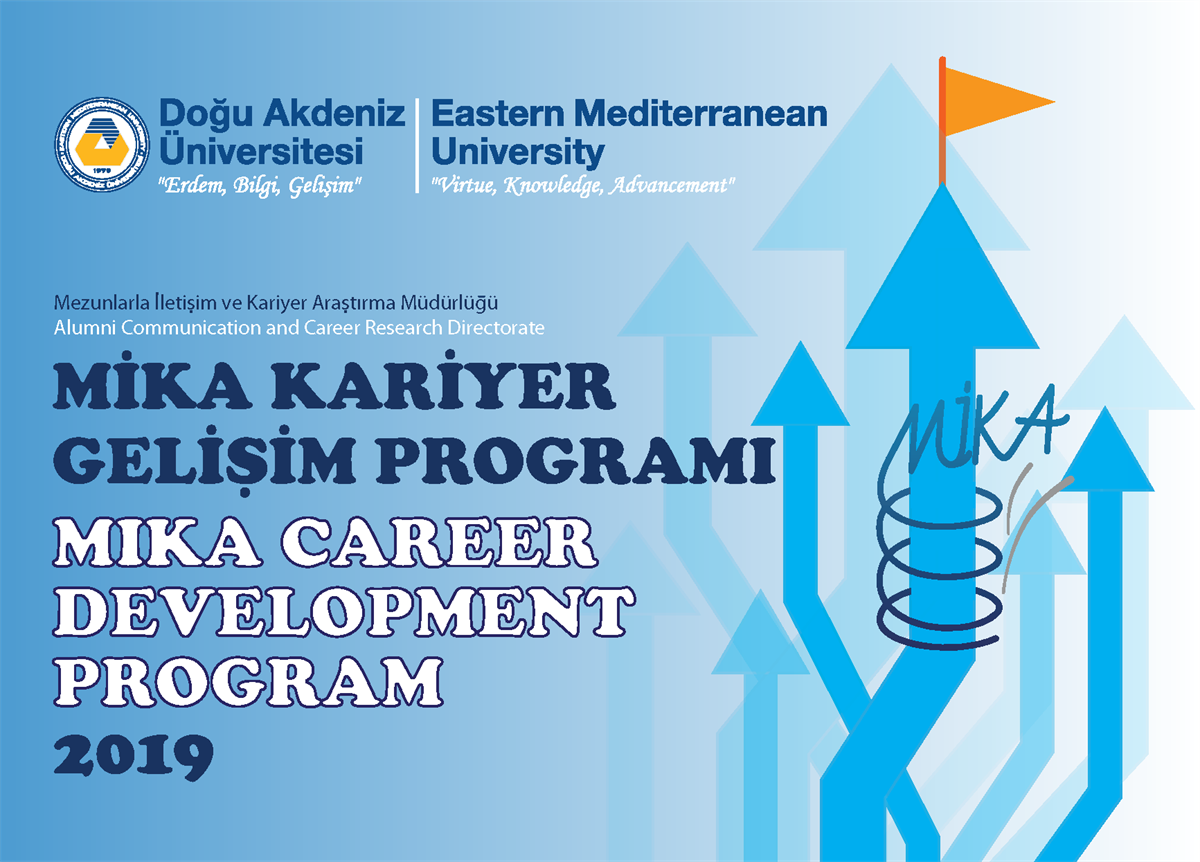 Please Check New Events for MIKA Cereer Development Program