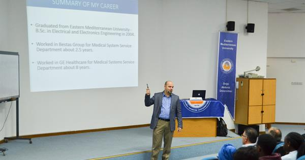 EMU Electrical and Electronic Engineering Department Hosted Volkan Akcan