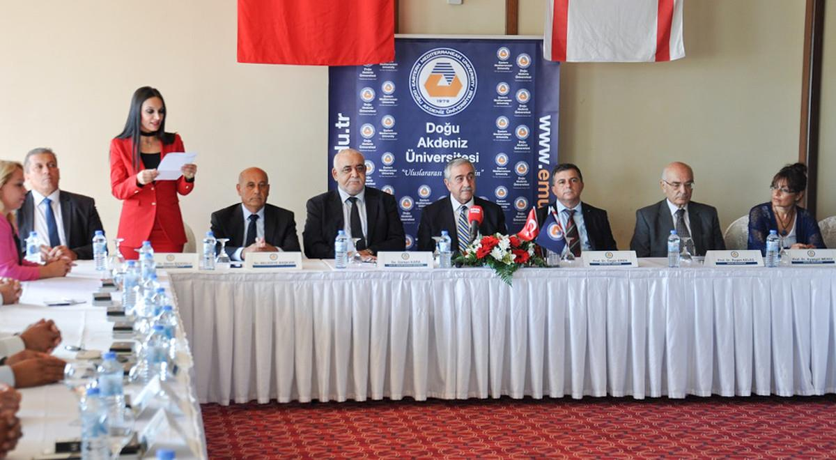 EMU International Conference on Urban Politics Attended by TRNC President Akıncı