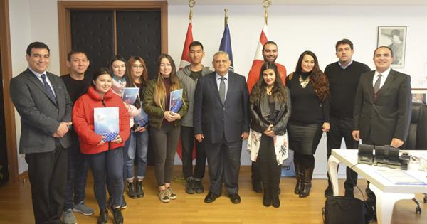 International Exchange Students Complete Their Studies In Emu
